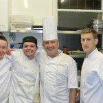 Great chefs - happy at their work!