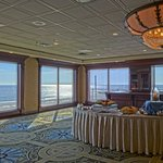 Perfect Views from our 5th floor Penthouse Ballroom Lounge