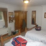 The Family room, large double Bed & a single.
