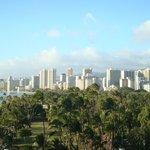 View of Honolulu from 8th Floor Veranda