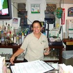 Margaret at the bar