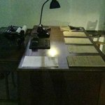 Working area in Gestapo Headquarters Museum