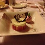 dessert in lake view restaurant