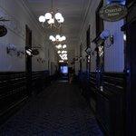 Corridor leading to restuarant