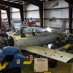 General view of the Hangar, T-28 under work