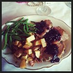 Herb Encrusted Pork Tenderloin with Roasted Potatoes & Green Beans