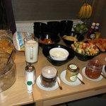 Breakfast bffet