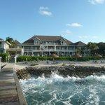 Cobalt Coast Resort, seen from the dock.