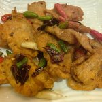 Ayam Goreng Cabe Rawit dan Lada