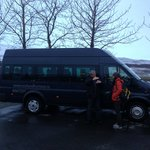 David and his tour bus