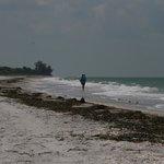 Menschenleerer Strand in 5 Gehminuten