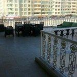 Lovely, large terrace