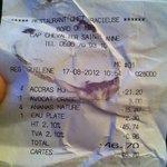 note 48€ pour 4 livré sur l'ilet !!