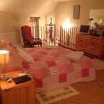 Bedroom at Douglas's barn