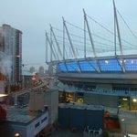 Blick auf BC Stadium
