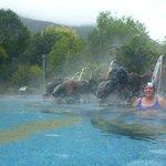 Hot-spring spa