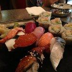 Chiba sushi sampler