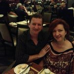 Alain & Penny Harvey at Philippe Restaurant + Lounge
