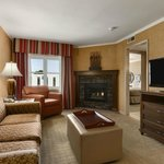 King fireplace suite