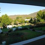 Lever du soleil depuis notre terrasse