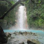 Rio Celeste Waterfalls