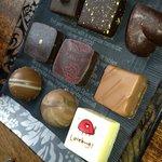 9 piece assortment of Jacques Torres Chocolates