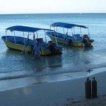les bateaux de plongées
