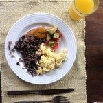 el rico desayuno
