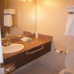 Two bedroom suite - bathroom is by the front door