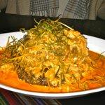 Red Snapper and Crab Meat Tacu Tacu