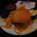 the texan with pulled pork