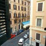 Vista desde una de las ventanas del hotel