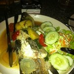 Barbacue Sea bass