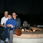 S`mores night by the fire pit