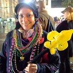 Parade beads (and rain)