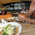 Anchor Caesar salad