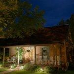 Cali Cochitta B&B old historic building in the moonlight