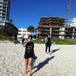 Salida de l Hotel a la Playa