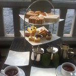 afternoon tea by the river