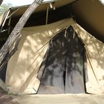 our tent - was better than it looks ;)