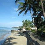 Beachfront at Hideaway Resort