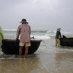Fishing families next to The Nam Hai