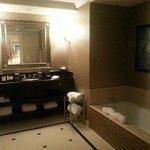 Master bath in suite