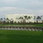 Hilton from the golf course