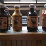 Very good handmade BBQ sauces , all a little different, but all are very good
