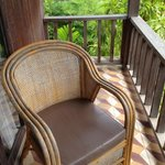 Really very comfortable chairs on our balcony
