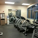 Workout Room - shared between Holiday and AmeriStar