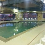 Pool - shared between Holiday and AmeriStar