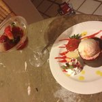 fabulous sorbet & chocolate cake room service