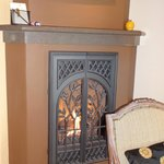 Fireplace in Madrone